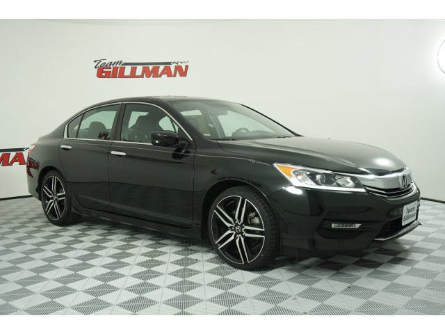 Pre-Owned 2017 Honda Accord Sedan Sport LEATHER ALLOY WHEELS
