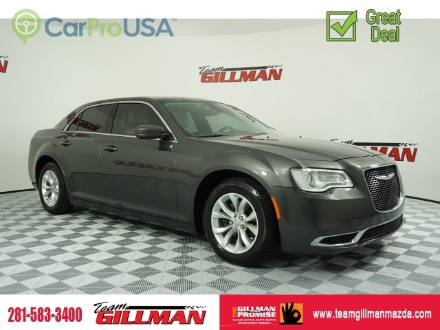 Pre-Owned 2016 Chrysler 300 Limited LEATHER INTERIOR SUNROOF