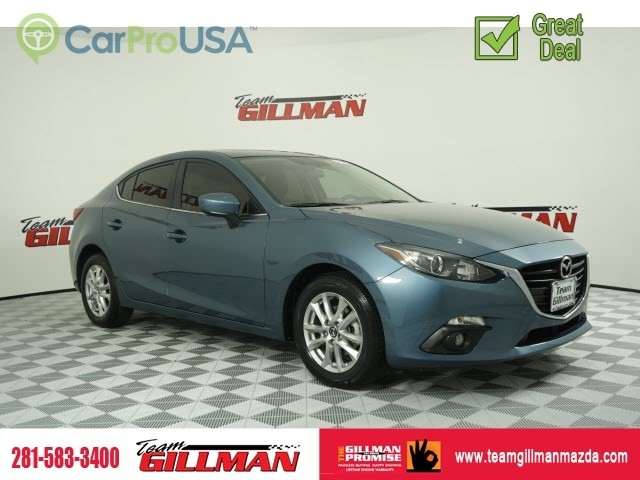 Certified Pre-Owned 2016 Mazda3 i Touring LEATHER SUNROOF
