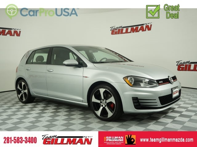 Pre-Owned 2017 Volkswagen Golf GTI S HEATED SEATS BACK UP CAMERA