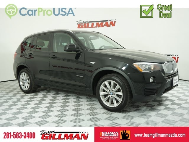 Pre-Owned 2017 BMW X3 sDrive28i LEATHER PANOROOF