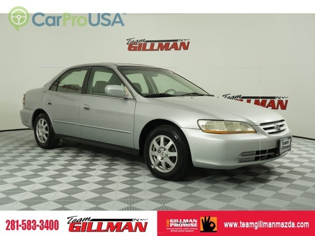 Pre-Owned 2002 Honda Accord Sdn SE SUNROOF