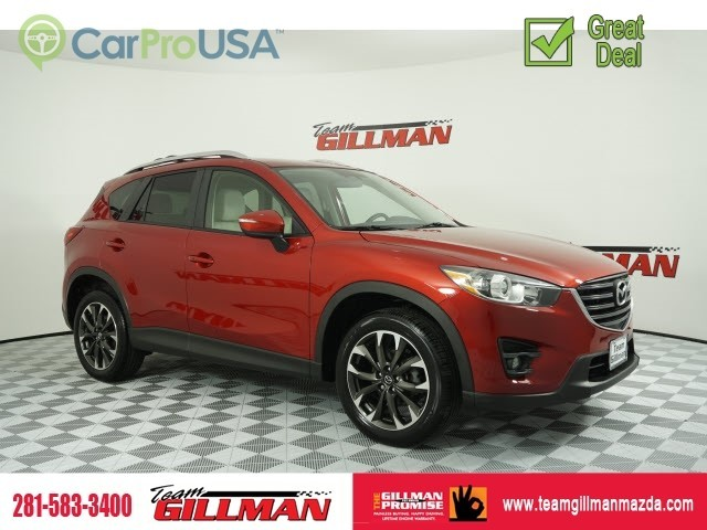 Certified Pre-Owned 2016 Mazda CX-5 Grand Touring LEATHER BOSE AUDIO SUNROOF