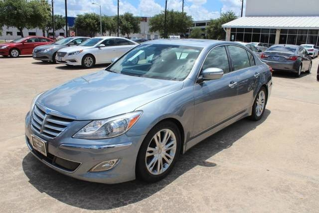 Pre Owned 2014 Hyundai Genesis 3.8L   Navigation   Sunroof