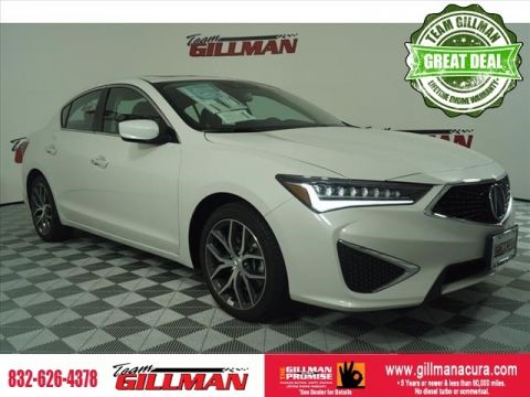 Pre-Owned 2019 Acura ILX Premium Package FWD 4D Sedan