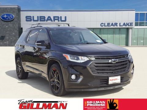 Pre-Owned 2018 Chevrolet Traverse Premier With Navigation