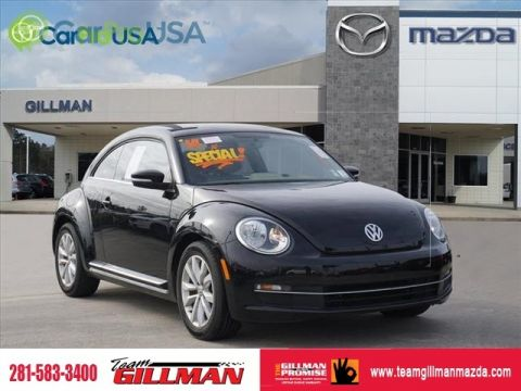 Pre-Owned 2014 Volkswagen Beetle Coupe 2.0L TDI LEATHER DIESEL
