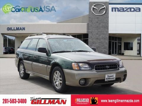 Pre-Owned 2003 Subaru Legacy Wagon Outback SUNROOF