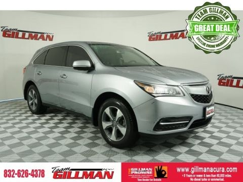 Pre-Owned 2016 Acura MDX 3.5L FWD 4D Sport Utility