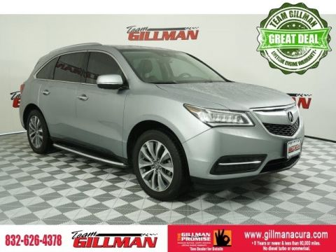 Pre-Owned 2016 Acura MDX 3.5L With Navigation