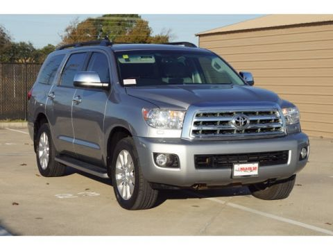 Pre-Owned 2017 Toyota Sequoia Platinum With Navigation