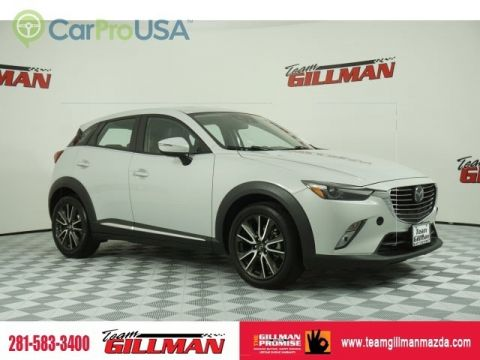 Pre-Owned 2016 Mazda CX-3 Grand Touring LEATHER INTERIOR BOSE AUDIO SUNROOF
