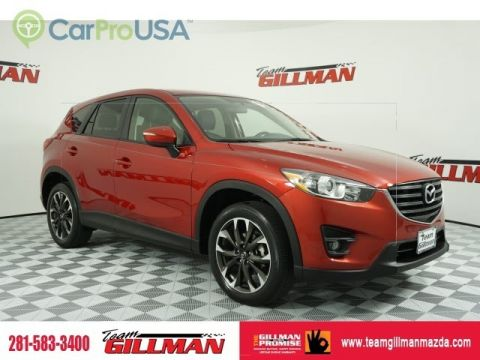 Certified Pre-Owned 2016 Mazda CX-5 Grand Touring LEATHER INTERIOR SUNROOF BOSE AUDIO CERTIFIED PRE-OWNED
