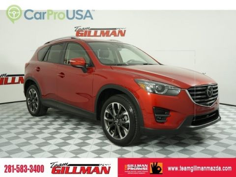 Certified Pre-Owned 2016 Mazda CX-5 Grand Touring LEATHER INTERIOR BOSE AUDIO NAVIGATION SYSTEM SUNROOF CERTIFIED PRE-OWNED